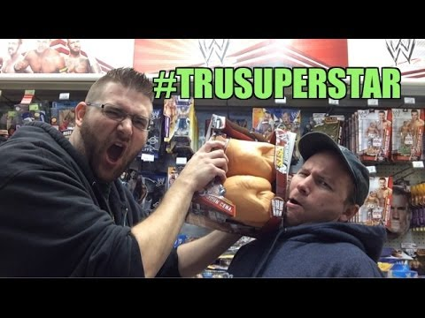 Grim's Toy Show ep 816: ToysRus Superstar!! WWE Elite Mattel wrestling figures aisle
