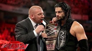 COO Triple H asks Roman Reigns to 'sell out': Raw, November 9, 2015