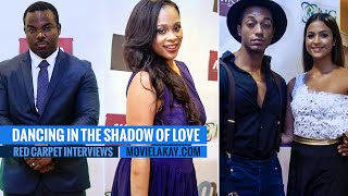 Dancing In The Shadow Of Love Premiere - Red Carpet Interviews