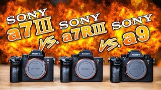 Sony a7 III vs Sony a7R III vs Sony a9: Which To Buy, the ULTIMATE BATTLE