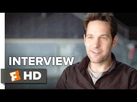 Captain America: Civil War Interview - Paul Rudd (2016) - Action Movie HD