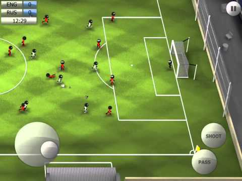 Stickman Soccer 2014 - England 1 / Russia 0