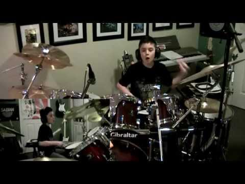 Black Veil Brides - fallen Angels (drum Cover) video