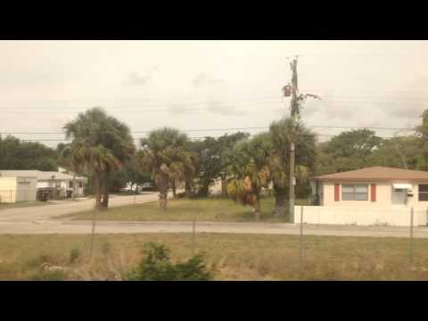 A Ride on Amtrak PO98 Part 16: West Palm Beach Station-Just before 45th Street 5-2-14