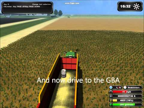 Farming Simulator 2011 CoursePlay and Auto-Pilot Tutorial