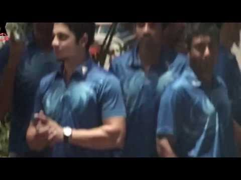 Mumbai Indians Party at Ambani's Antilla