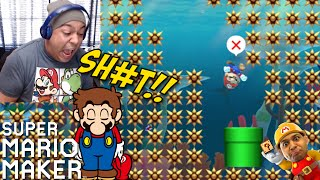 ALL RAGE LEVELS!!? WHY!!!? [SUPER MARIO MAKER] [#12]