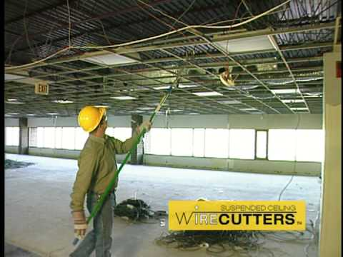 Wire Wolf Suspended Ceiling Wire Cutter Youtube