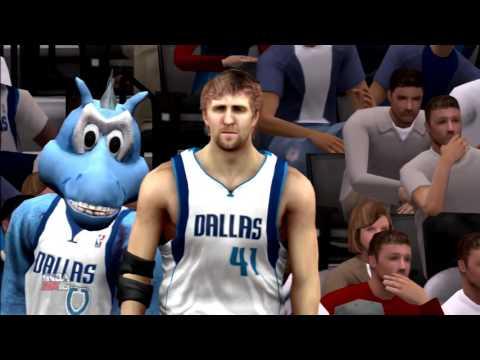 NBA 2K16 New York Knicks vs Dallas Mavericks PS3 HD