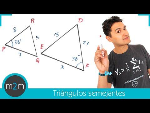 Ejercicios de triángulos semejantes - HD