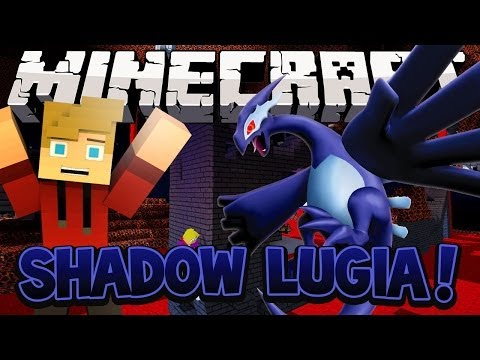 SHADOW LUGIA ESCAPE! (Dragon Escape) Minecraft Mini-Game w/LittleLizardGaming