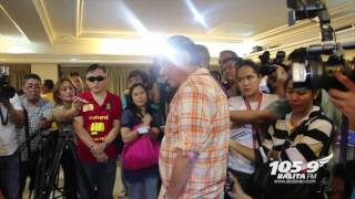 Duterte bursts in anger as he meets kidnappers