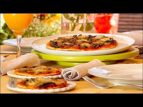 Choumicha : Pizza aux épinards شميشة : بيتزا بالسبانخ