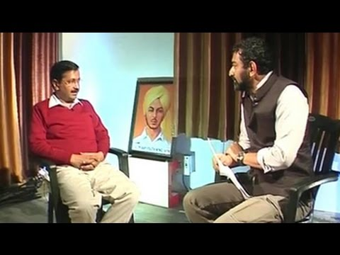 'Does hawala money move through cheques?' Arvind Kejriwal to NDTV