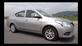 2016 Nissan Almera 1.5 E Start-Up and Full Vehicle Tour
