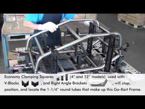 Fixturing Case Study on the BuildPro Welding Table