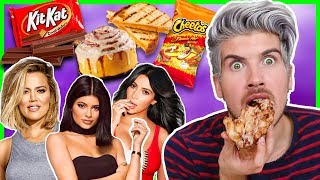 TESTING OUT KARDASHIAN FOOD HACKS!