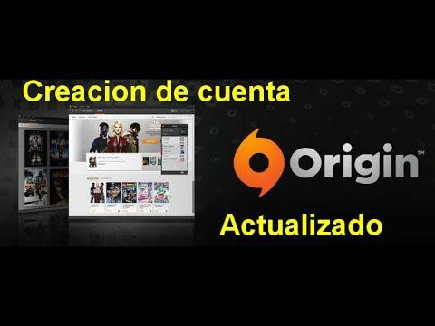 Crear cuenta origin para ea.com (2ª opcion)
