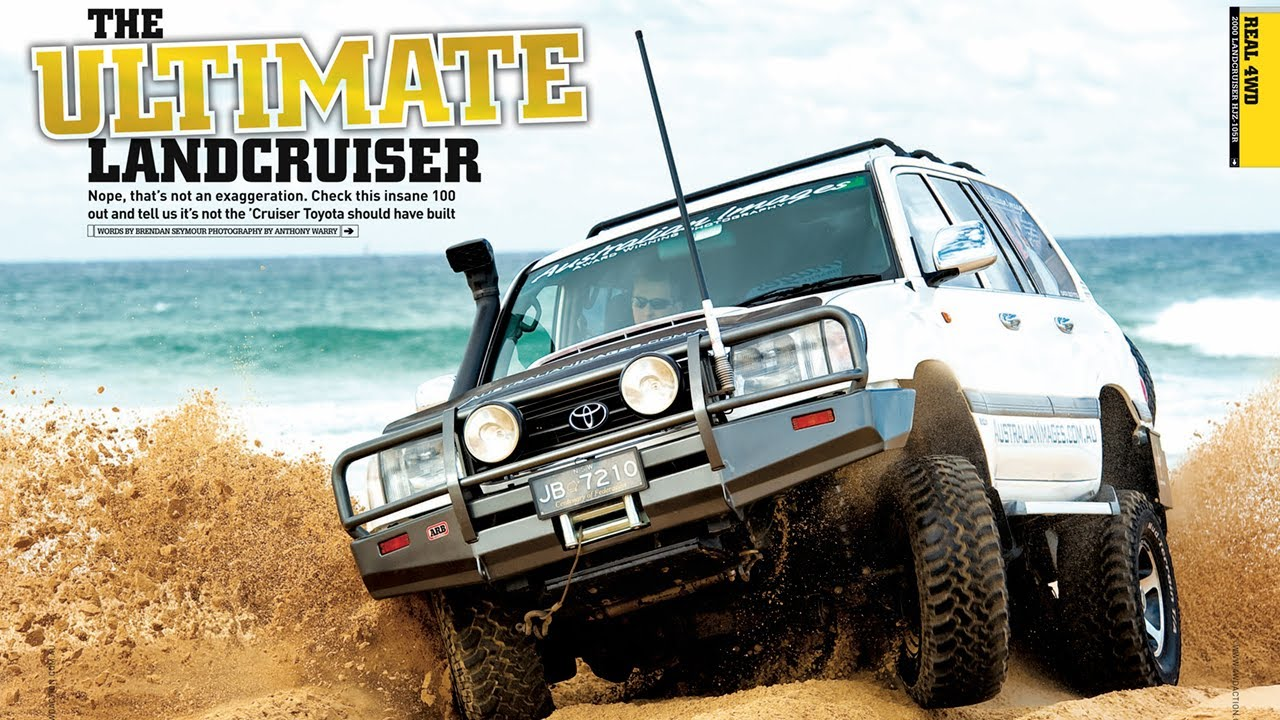 LandCruiser 100 with Toyota turbo diesel V8 - 1VD-FTV ...