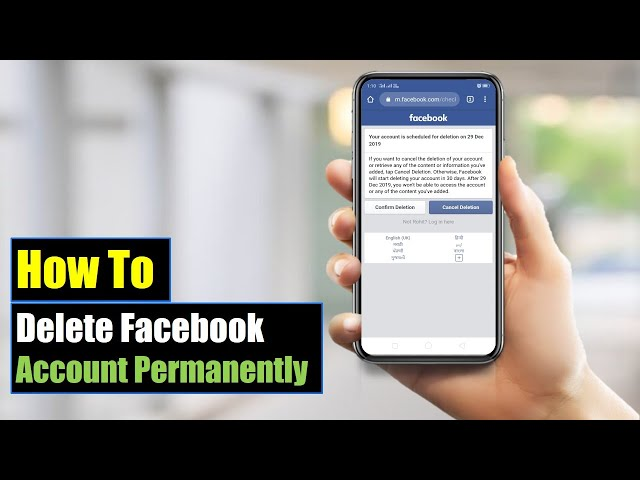 How to delete facebook account video watch hd videos online without how to delete facebook account permanently on mobile android or iphone 2018 mobile app ccuart Choice Image