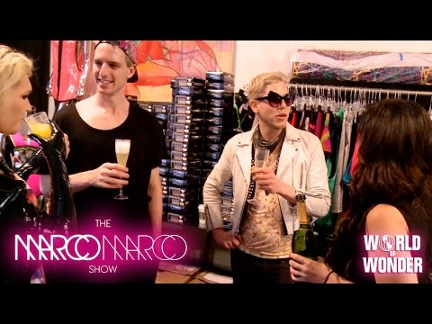 #MarcoMarcoShow - Fittings with Sharon Needles, Milk, Mathu Andersen, Gigi Gorgeous, and Willam