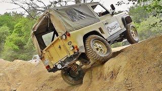 #34 Trial 4x4 - Defender VS Range Rover VS Discovery #LandRoversFlexing