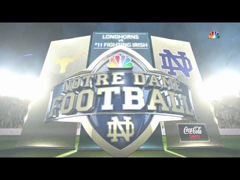 NCAAF /  Week 01 /  05.09.2015  / Texas Longhorn @ (11) Notre Dame Fighting Irish