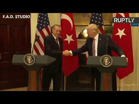 Президент США Дональда Трамп - Мужества и Храбрость Турок на войне вошла в легенды. 16.05.17.
