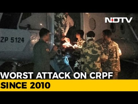 'Maoists In Black Gear Used Rocket Launchers': CRPF Survivor On Ambush
