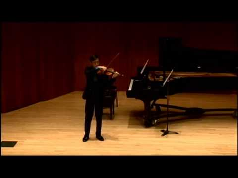 Variations on Amazing Grace - Timothy Lee, violin