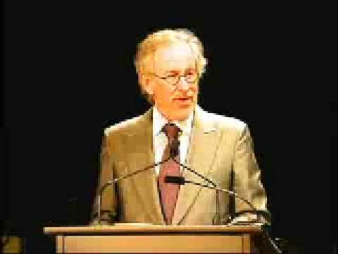 Steven Spielberg Speech at 2007 Ambassadors for Humanity Event