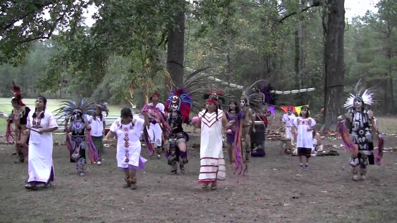 Day of The Dead Dancer Aztec Dancers Celebrate Day of
