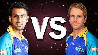 Shoaib Malik vs Kane Williamson. Who is the best Batsman in CPL 2017?