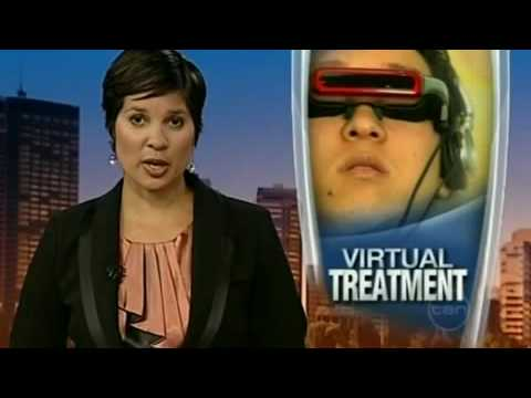 Channel Ten News Story on Virtual Reality Therapy available in Perth at Vision Counselling. Visit - www.virtualrealitytherapy.net.