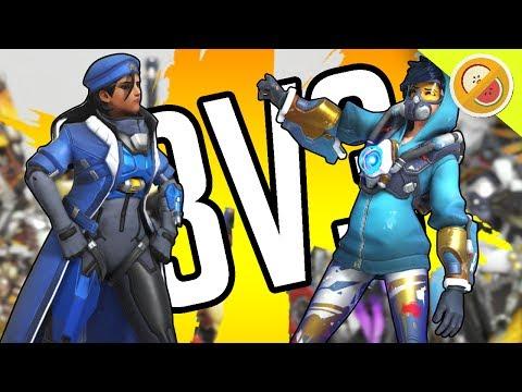 3V3 AGAINST FANS! | Overwatch