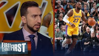 Are LeBron & Lakers still best team in NBA? Nick & Doug Gottlieb discuss | NBA | FIRST THINGS FIRST