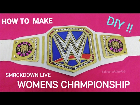 How To Make Wwe SmackDown Live Womens Championship
