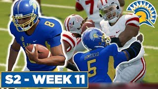 The FRESHMAN Steal The Show! - San Jose State   NCAA Football 14  - Ep 28