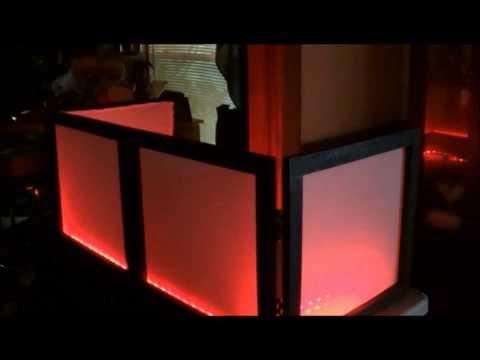 How to build a DJ table Top Facade