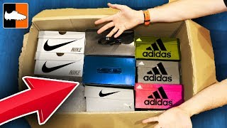 Greatest Ever Unboxing?! What's In The Box?! Nike & adidas Football Boots