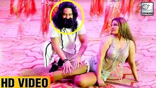 Gurmeet Ram Rahim DANCING With Rakhi Sawant VIDEO Goes VIral   LehrenTV