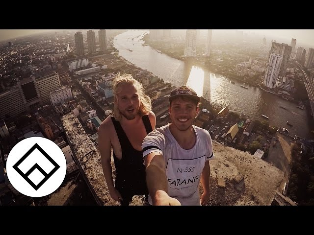 Freerunning in Bangkok's Ghost Tower - Team Farang