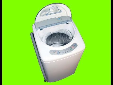 panda portable washing machine with spinner dryer combo