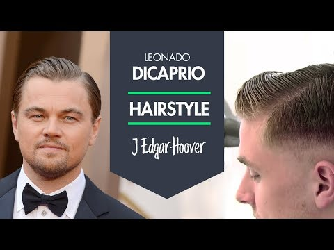 Leonardo DiCaprio Hairstyle as J. Edgar Hoover by Jean André and Rasmus Hybridized WAX TV 29 SE2