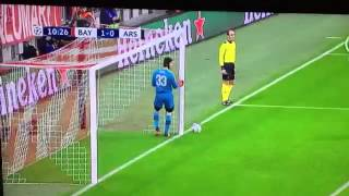 Bayern Munich vs Arsenal • 1 0 • Goal Lewandowski • 4 11 2015