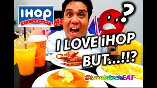 IHOP BREAKFAST MENU (NAKAKAINIS!!) | FOOD REVIEW | TASTE TEST | Cheat Day with Jay #14