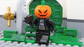 Lego Halloween - The Bank Robbery