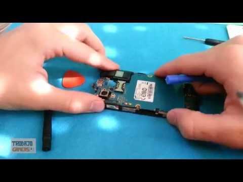 Como cambiar pantalla/cristal Samsung Galaxy Ace