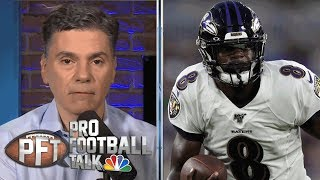 Will Lamar Jackson show improvement with arm? | Pro Football Talk | NBC Sports