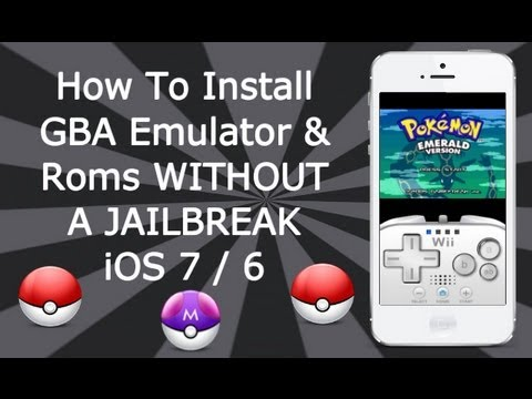 Install GBA Emulator & Games WITHOUT A JAILBREAK iOS 8 / 7 / 6